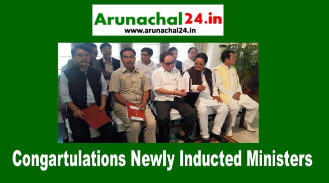 Arunachal Pradesh- Khandu Ministry Expanded