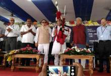 Prabhu Lays Foundation Stone to Bring Kohima on Railway Map