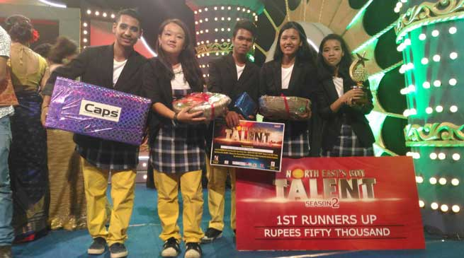 Arunachal's Dane Group G7 Loyals Won the Second Position in NEGT-2
