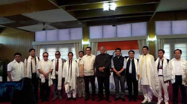 Arunachal- Khandu allocates portfolios to his ministers