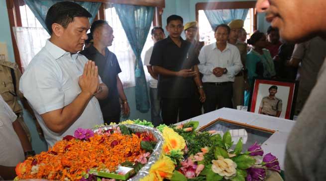 Govt will Leave No Stone Unturned to Apprehend the DSP's Killer- Khandu