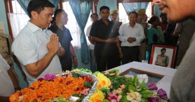 Govt will Leave No Stone Unturned to Apprehend the DSP's Killer- Khandu