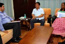 Photo of Khandu Discussed Issues Related to Land Acquiring Process