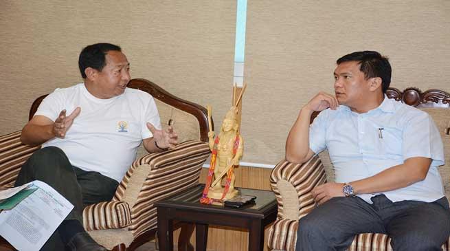 Govt Would Formulate a Policy to Stream Line Sports Affairs- Khandu