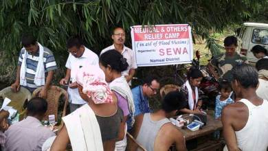 SEWA Organised a Free Medical Camp in Namsai