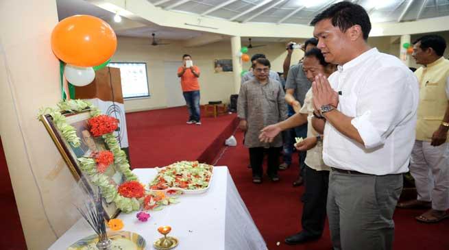 Arunachal- Sadbhawna Diwas Observed