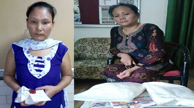 Narcotics Control Bureau Arrested Two Women With Cocaine
