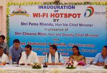 Photo of WI-FI Hot-Spot Inaugurated at Dera Natung Govt College
