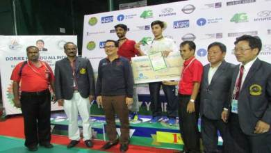 Dorjee Khandu All India Senior Ranking Badminton Tournament Concludes