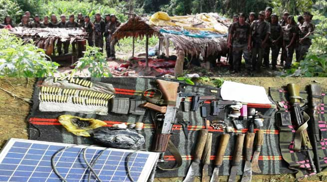 Army Killed 6 KPLT Terrorists, Bursts Camp in Namber Reserve Forest