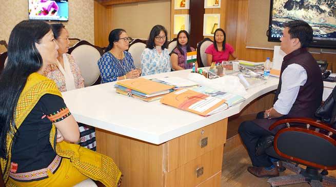 Govt will extend Cooperation to Women Welfare Activities- Khandu assured APSCW
