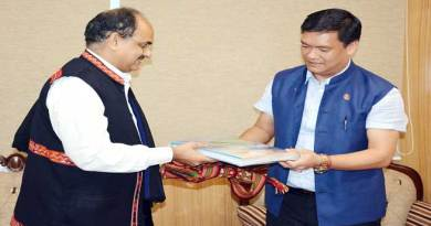 I am committed to the people of Arunachal for corruption free governance- Khandu