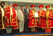 Photo of M D Khetan has been conferred Honorary Doctorate by the Desh Bhagat University