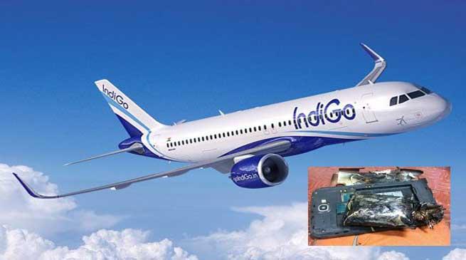 Samsung Galaxy Note 2 Explodes Onboard Indigo Airlines Flight