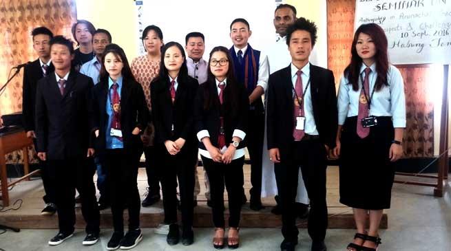 Seminar on Anthropology in Arunachal Pradesh- Prospects and Challenges