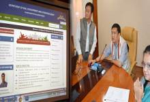 Khandu Launched the website of THE Skill Development and Entrepreneurship department