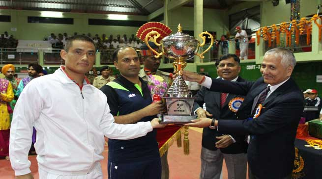 Force Level Inter Frontier BSF Badminton Championship-2016 Concluded