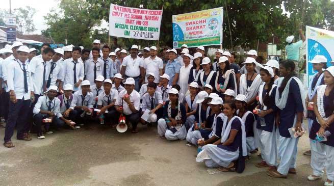 Chow Zingnu launched Swachh Bharat Week at Namsai