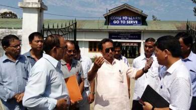 Photo of Education minister visits GHS School Chongkham