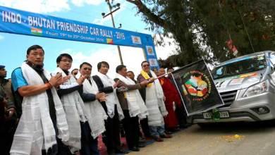 Photo of Khandu flags-off Indo-Bhutan Friendship Car Rally 2016