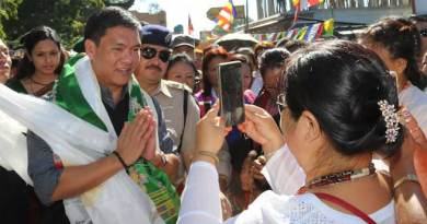 Bhalukpong is Mini-Arunachal and Mini-India- Khandu