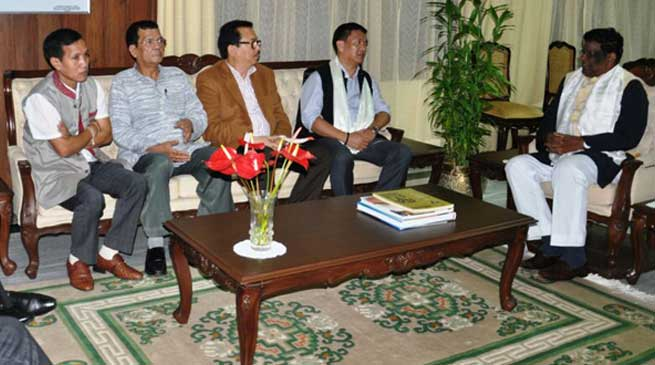 Governor and CM discussed Developmental Issues of State