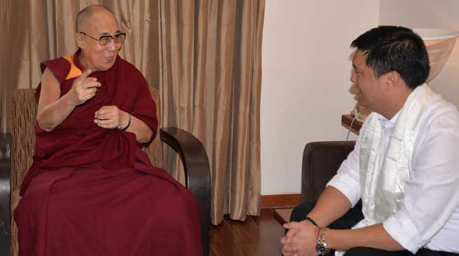 His Holiness the Dalai Lama will visit Arunachal Pradesh March next year