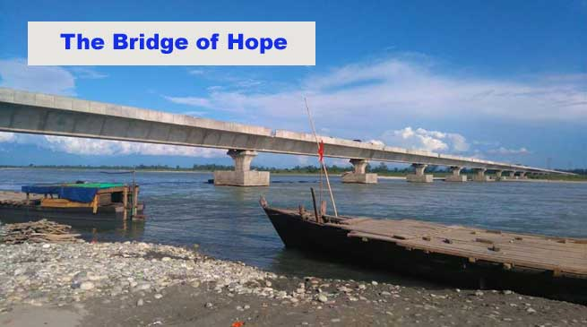 Lohit Bridge- The Bridge of Hope