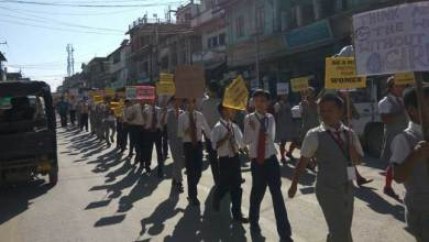 Photo of Rally against sexual exploitation in Churachandpur