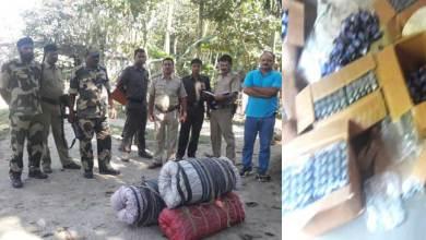 Photo of BSF Seizes 665 Bottles Phensedyl and 70 Kg Ganja in Cooch Behar