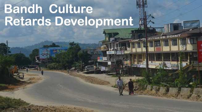 Bandh Culture is a Scourge- It Retards Development