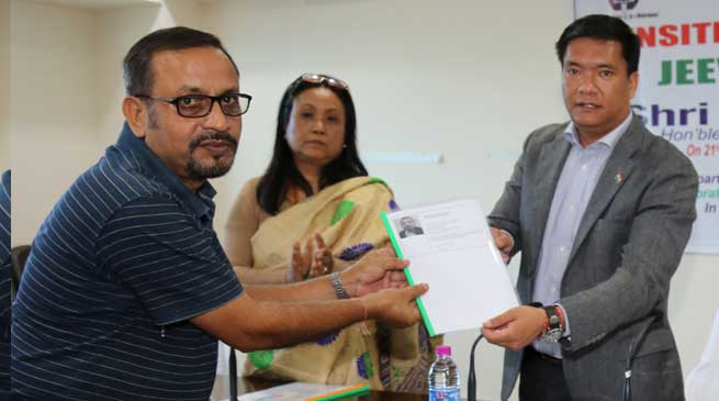 Khandu launched the Jeevan Pramaan sensitization programme