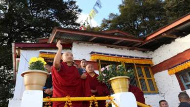 His Holiness visits Urgyelling Gompa – the birthplace of Sixth Dalai Lama