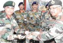 Lt Gen AS Bedi Takes Charge as New Goc Gajraj Corps