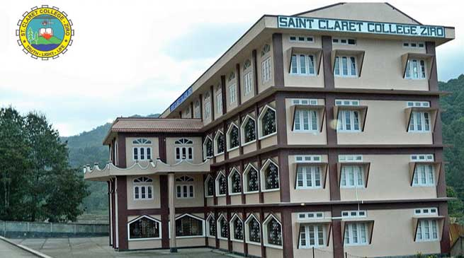 Ziro- Peer Team from NAAC Re visit to Saint Claret College