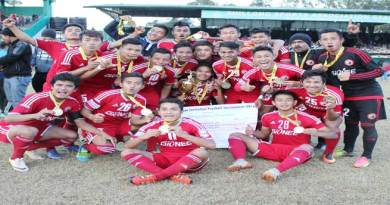 Shillong Lajong FC Are Meghalaya Invitation Football Tournament Champions 2016
