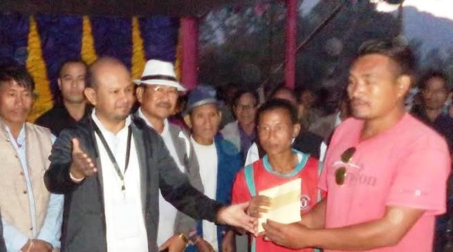 Ledum veteran become champion of the 3rd Late Tasing Darang Veteran Football Trophy