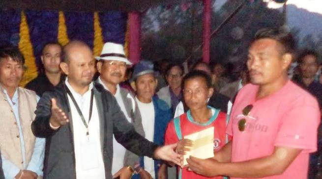 Ledum veteran become champion of the 3rd Late Tasing Darang Veteran Football Trophy