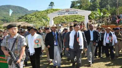 Rijiju inaugurated Golden Jubilee Gate erected in fond memory of Late Moken Nyorak