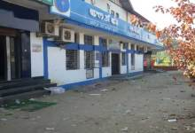 Photo of Angry customers vandalized two SBI branches in Manipur
