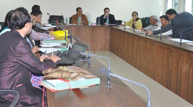 Dy CM Chowna Mein Convened Pre-Budget Consultative meetings
