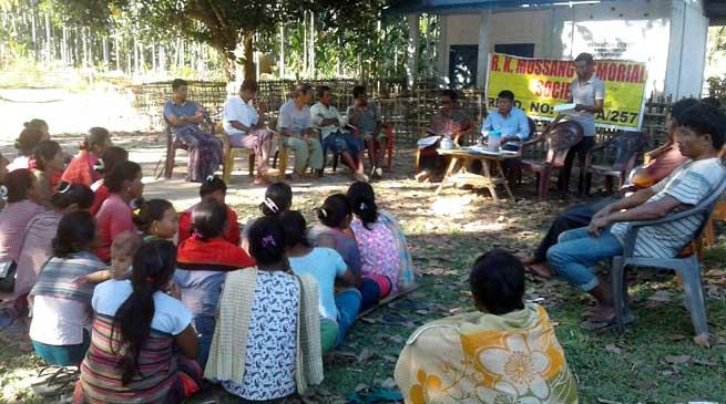 RKMMS Organised Awareness camp on Cashless Transaction