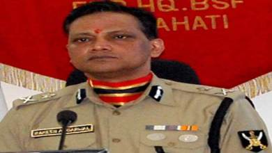 Rakesh Agarwal, IPS takes over as IG BSG, Guwahati Frontier