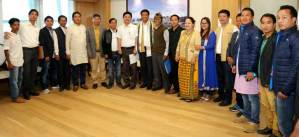 First Agency Councillor of NEFA Administration meets Khandu