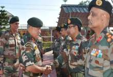 Photo of Chief of Army Staff Visits Manipur