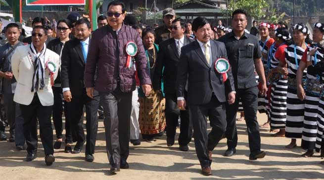 Gaon Burah Conference held at Koloriang