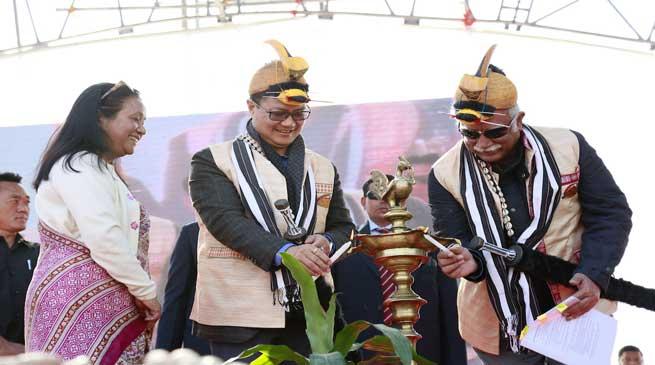 Itanagar- Digidhan Mela Launched in Arunachal