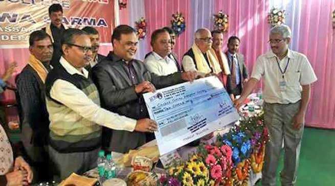 Health Minister grants 10 Cr to Cachar Cancer Hospital and Research Centre