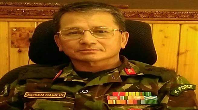 Pema Khandu Congratulates Maj Gen Jarken Gamlin