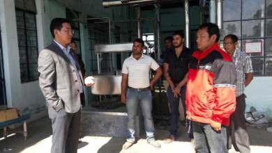 Mohesh Chai Visits Pasighat and interacted officials